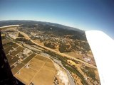 Camera falls from airplane and lands in pig pen - MUST WATCH END!!