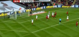 Joe Hart super Save  - England 0-0 Portugal - 02-06-2016
