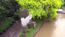 Savigny-sur-Orge, Epinay-sur-Orge. Crue de l'Yvette : inondations du 2 juin 2016.