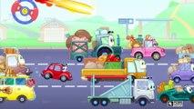 ✔  Voiture de course pour bébés. Dessins animé voiture. Tiki Taki Bébé. Série 9 ✔