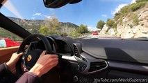 Ferrari 458 Spider Fast & Loud on Mountain Roads!