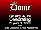 Radio 1 Rodos FM88 1989-2009, 20 Years @ Dome, Ρόδος Ράδιο Ένα   Rhodes (Rhodos) - Greece