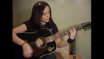 """Lovely Guitar Girl plays OPETH` ballad """"Harvest"""" (from the Album """"Blackwater Park"""", 2001)"""