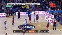 Баскетбол. Евролига. 1/4 финала. Барселона(Испания) vs Локомотив Кубань(Россия) 80:92