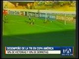 Este es el desempeño de la Tri en las ediciones de la Copa América