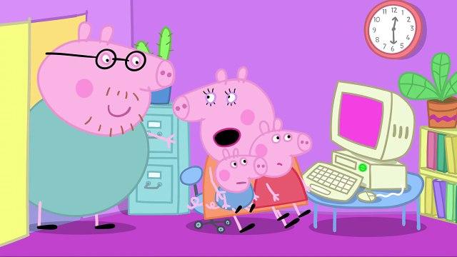 Peppa Pig   Daddy Pig, Computer Expert clip