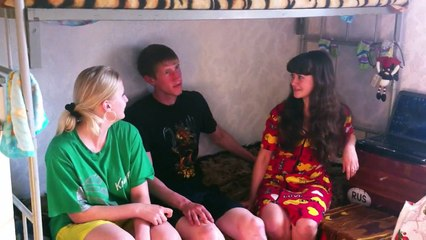 Встреча со студентами в общежитии на ул. Июльской, 20