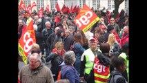 Manifestation contre la loi travail Nancy le 19 mai 2016