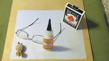 You won't believe your eyes! Artist creates amazing 3D drawings with just a pen and paper