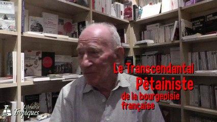 Jean Levy raconte : le pétainisme transcendantal