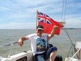 Stew sailing the vivacity 24 yacht