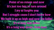 One Direction - Long Way Down ¦ HIGHER Key Karaoke Instrumental Lyrics Cover Sing Along
