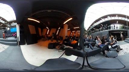 Interchange Opening - Keynote - Nicolas Cary (Co-Founder Blockchain) - VR 360 video