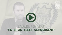 "Samuel Fenillat : ""un bilan assez satisfaisant"""