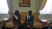 Mr & Miss Black Beauty Winners was welcomed at the Ghana High Commissioner Office in the UK.