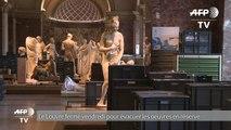 Le Louvre fermé vendredi pour évacuer les oeuvres en réserve