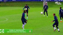 Zap Foot du 3 juin: Pogba et Griezmann ces magiciens du football, pendant ce temps-là Benzema fait les bras, Neymar jongle avec Justin Bieber etc.