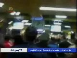 قيام 22 بهمن - 48 | Iran Protests - Tear Gas in Metro