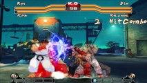 Ryu & Ken Vs. Jin & Kazuya - Hyper Street Fighter IV Mugen Edition | ItzTerribleT