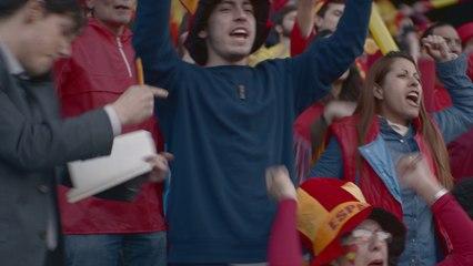 Live the Euros 2016 with Zinedine Zidane - Orange Sponsors you ( Spain )
