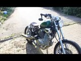 Virago 250 Bobber-The Build   - video dailymotion