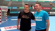 FCB Handbol: Xavi Pascual i Carlos Viver, prèvia Granollers-FCB Lassa [CAT]