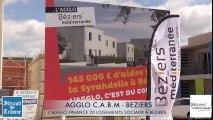 BEZIERS 2016 -Habitat pour tous, l'Agglo finance 20 logements sociaux à Béziers