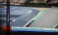 MOTO GP DEADLY ACCIDENT SPANISH RIDER LUIS SALOM - FATAL ACCIDENT VIDEO