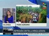 Colombia: rechaza gobierno el diálogo ante el paro nacional agrario