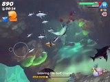 New shark unlocked goblin shark Arabian Sea unlocked and evil megalodon found!!