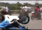 Motorcycle crash caught on tape Motorcycle Fail motor bike accident bike collision motorrad Unfall