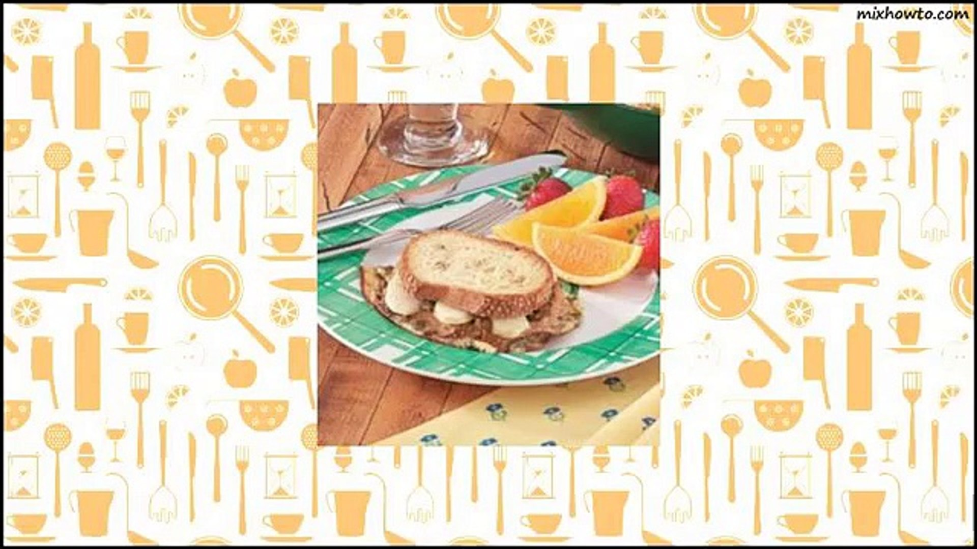 Recipe Apple-Sausage French Toast Recipe