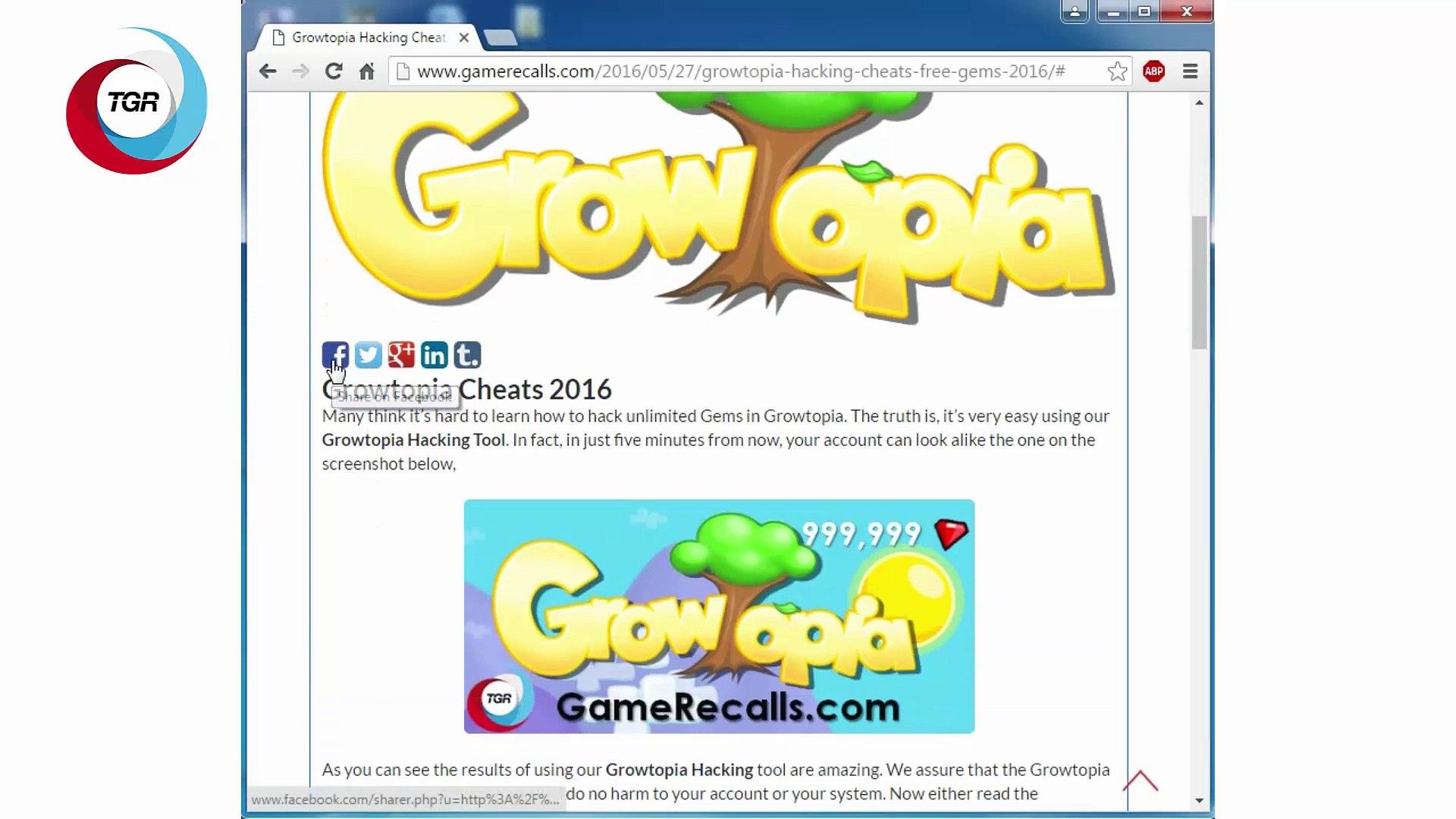Growtopia Cheats Free Gems 2016 Video Dailymotion