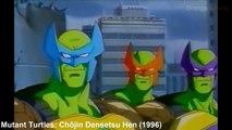 Teenage Mutant Ninja Turtles in Television & Film Mashup