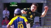 Mitchell Starc 4 Wickets For 27 vs Sri Lanka 3rd ODI 2010 HD