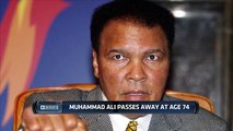 74 year old Muhammad Ali passes away