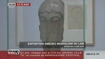 Deniers jour de l'expo Modigliani au LAM