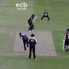Chris Gayle hits it out of the ground
