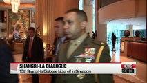 The 15th Shangri-la Dialogue kicks off in Singapore