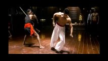 The best fighting scene in baaghi movie, amazing body and fighting skills