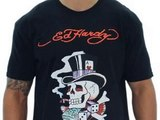 Details Ed Hardy By Christian Audigier New York Men's T-Shirt Crewne Deal