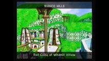 Super Mario Sunshine - Red Coins of Windmill Village Speedrun (57''28)
