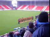 England Academy 20-22 Australian Institute of Sport-National Anthems