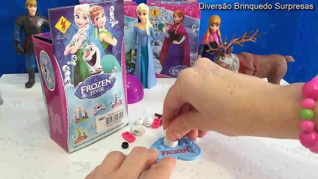 Frozen Elsa Anna Disney Lego Aventura Congelante DTC Ovos Surpresas Toys Play Doh Shopkins