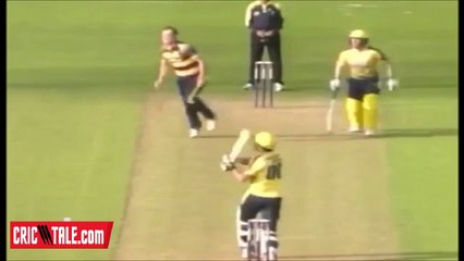 Shahid Afridi Boom Boom Inning in County Cricket