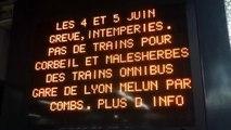 Les grèves et les intempéries ont de lourdes conséquences sur les transports parisiens