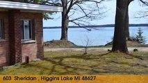Home For Sale: 603  Sheridan  Higgins Lake, Michigan 48627