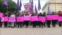 """Argentina vuelve a repudiar la violencia machista al grito de """"Ni Una Menos"""""""