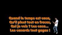 Les canards verts ou la chute des mots, poème de Raphaël Zacharie de IZARRA