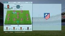 FIFA 16 CARRIERE ATLETICO MADRID #01 TRANSFERTS ET DEBUTS DE CHAMPIONNAT !